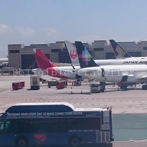 シンガポール(SQ)運航便 PPルーティング検討 ロサンゼルス(LAX)⇔シンガポール(SIN)