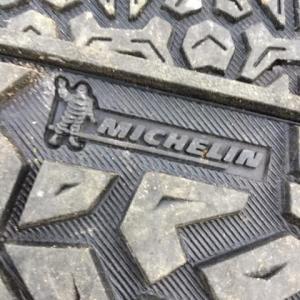 画像あり 靴の裏にミシュランの青年を発見。