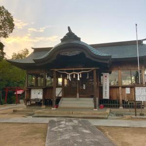 誕生日。産土神社。