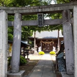 上羽田八幡宮、城沼