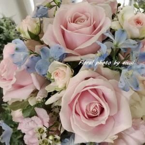可愛い薔薇のブーケ