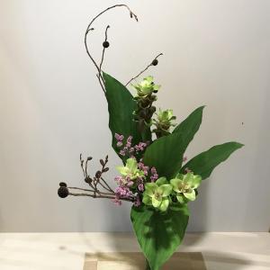 鎌倉芸術館の花