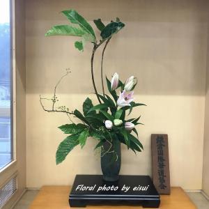 JR駅の花に驚き~~~!