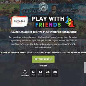Humble Asmodee Digital Play With Friends Bundleの内容と収録ゲーム一覧