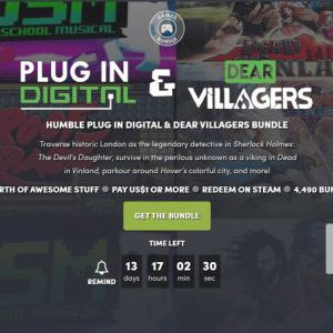 『Humble Plug In Digital & Dear Villagers Bundle』の内容と収録ゲーム一覧