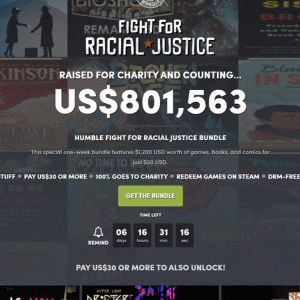 『Humble Fight for Racial Justice Bundle』の内容と収録コンテンツ