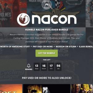 『Humble Nacon Publisher Bundle』の内容と収録ゲーム一覧