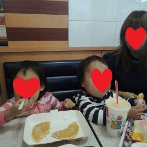 双子と子連れ九州旅行① 3歳5カ月