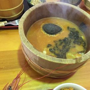 男鹿半島 入道崎で海鮮と名物の石焼鍋を食べる