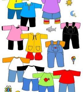 英語で子育てフレーズ集:服屋5 English@clothes stores