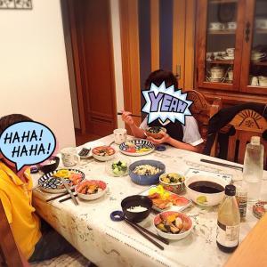 英語で子育て:晩御飯中も英会話(3) Cautioning Table Manners