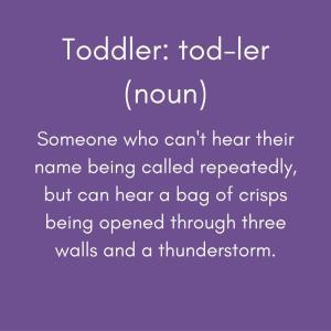 toddlerの意味は?