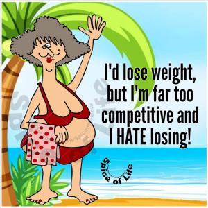 体重は減らせるのよ‼️ I can lose weight‼️