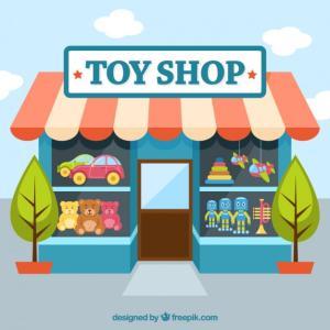 英語で子育て:玩具屋4 English @ Toyshop