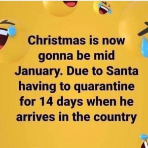 Delay Christmas?! クリスマスを延期❓❕