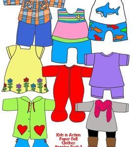 英語で子育てフレーズ集:服屋3 English@Clothes store