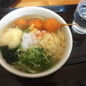 【外食レポ】讃岐うどん 1杯目
