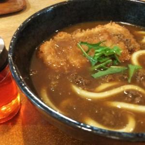 オシ麺 カツカレーうどん 実食