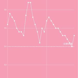 産後ダイエット200日目 目標体重達成! 次の目標に向けて頑張る!