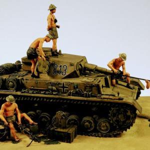 「1800時出撃予定。各自整備確認せよ!」 北アフリカ戦線 リビア内陸部