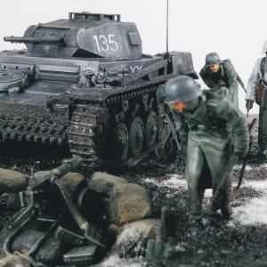 「泥まみれ」1943年春 ハリコフ戦のその後に