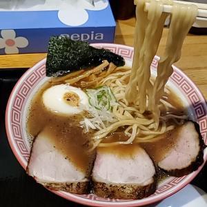岐阜県瑞穂市『麺切り 白流』焼干し味玉醤油そば