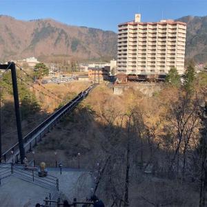 鬼怒川温泉・鬼怒楯岩大吊橋の景色が素晴らしい!