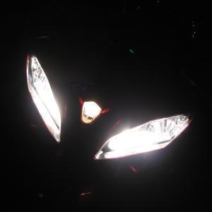 バイク車検 ヘッドライトの話
