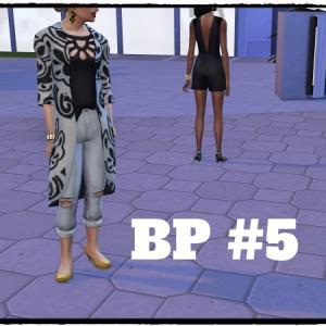 【Sims4 BP】#5 忠告