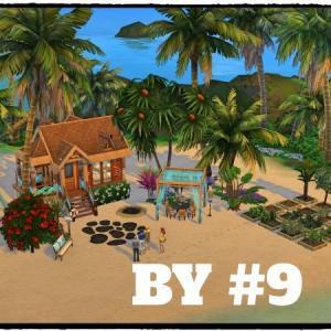 【Sims4 BY】#9 新築