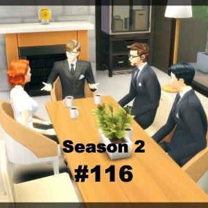 【Sims4】#116 家族会議【Season 2】