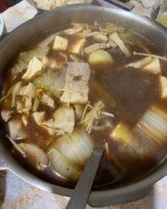 寒くなって来たから、夜は鍋物