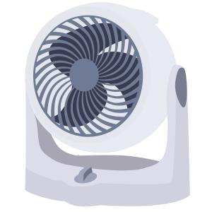 冷暖房の節電におすすめのサーキュレーターだが扇風機と何が違うの?