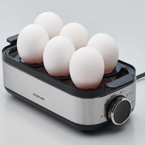 【ゆで卵・半熟ゆで卵作りが簡単】簡単操作のオススメゆで卵器♪