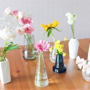 フラワーベースの選び方|ガラスや陶器、北欧デザインなどのおすすめアイテムも紹介