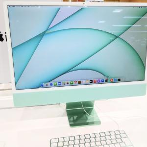 新型のiMacを見てきた!