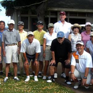 第11回ハワイシニアライフ協会・マウイ支部・ゴルフ会