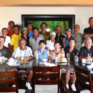 第23回ハワイシニアライフ協会・マウイ支部・ゴルフ会
