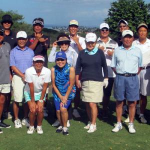 第47回ハワイシニアライフ協会・マウイ支部・ゴルフ会