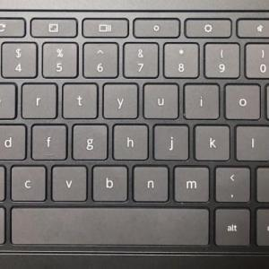 【Chromebookキーボード紹介】「」(かぎかっこ)と・(中点)の入力方法