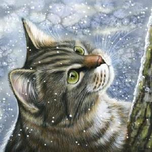 アート・可愛い猫素材②