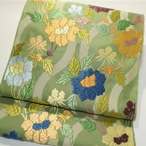 西陣織の名匠「山口安次郎」本唐織袋帯