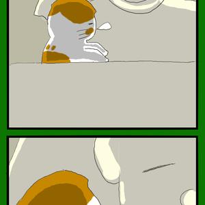 たぬき寝入り