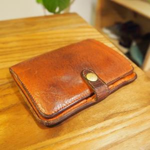 使っていなくても処分したくないIL BISONTEの財布