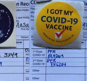 ワクチン接種完了いたしました。
