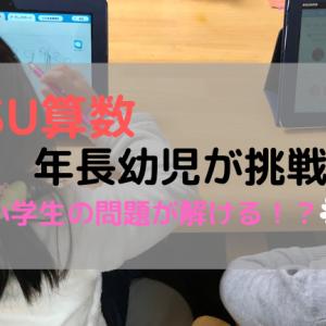 RISU算数を年長幼児が体験した結果と感想。小学生の問題を本当に解けるのか?