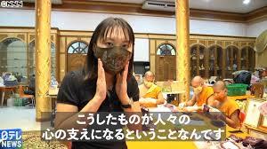 アベノマスクより、タイの僧侶の手作り『お守りマスク』が欲し~い!!