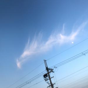 昨日のお空✨