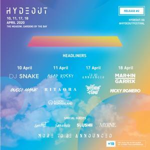 シンガポールで開催の音楽フェスティバル【Hydeout】とは?