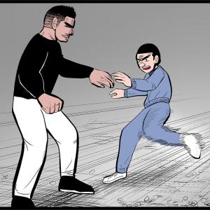 【いじめ+格闘漫画】#30「頭突き」